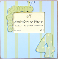 Smile for the Birdie picture frame