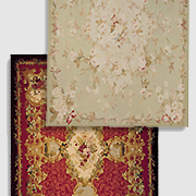 French Market Collection Aubusson Rug